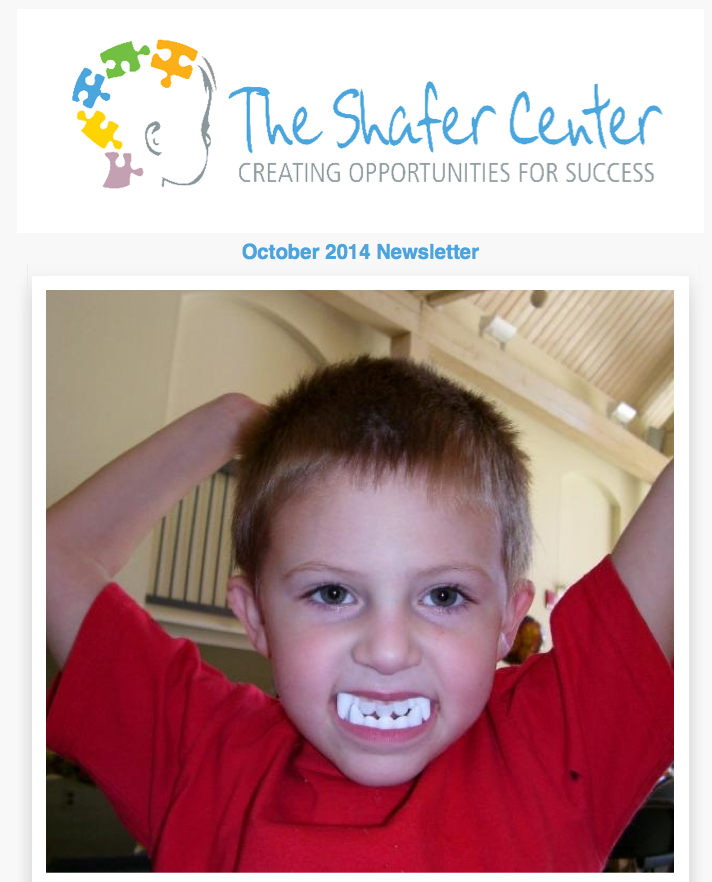 Shafer Center newsletter